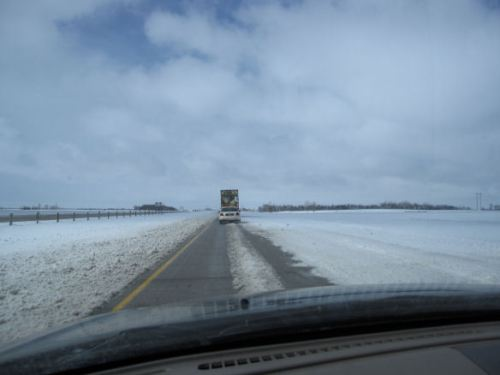 The Interstate at 30 mph. North Dakota for you.
