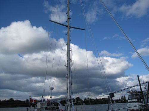 The mast in its glory