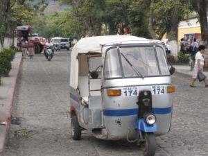The Indian-built 'tuk-tuk'.