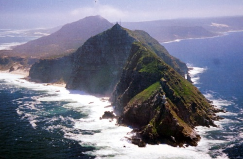 Heading south around this today from Simons Town enroute to Walvis Bay, Namibia. The actual Cape of Good Hope.