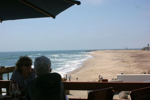 The Skeleton Coast. Many good men have lost their lives here but I'm leaving with skin on my bones.