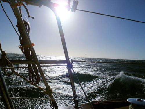 Some big waves.