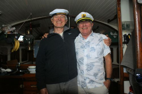 Captain and 1st mate.