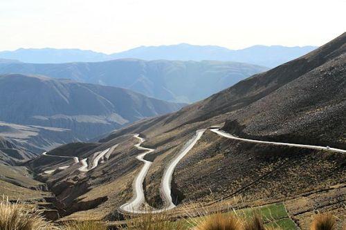 The famous descent into Argentina.