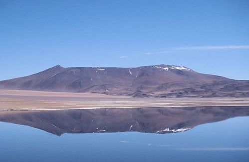 Across the altiplano in the high Atacama. 15,000'.